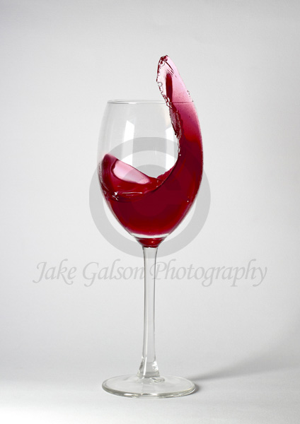Image from the Wine Glass Series by Jake Galson