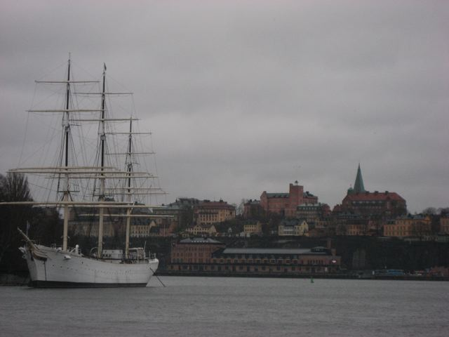 The 'af Chapman' on the island of Skeppsholmen in Stockholm harbour