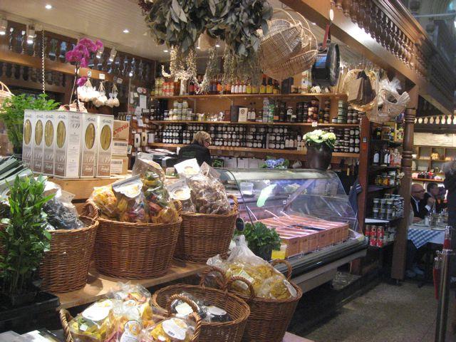 Saluhall Market in Stockholm, Sweden
