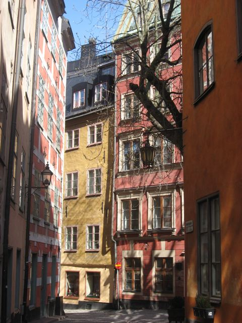 The streets of Gamla Stan, Stockholm