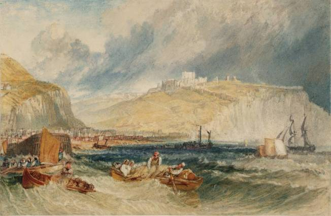 Joseph Mallord William Turner (1775–1851) 'Ports of England' Watercolours, Dover, D18154 Turner Bequest CCVIII U, digital image © Tate released under Creative Commons CC-BY-NC-ND (3.0 Unported)