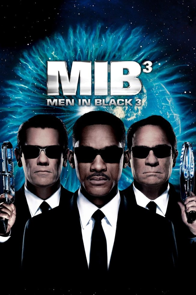 Men in Black 3, starring Will Smith, Tommy Lee Jones and Josh Brolin