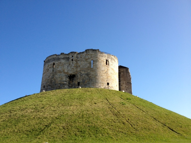 Clifford's Tower - landmark on ZANE's 2012 fundraising walk