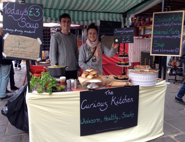 Curious Kitchen - Camden Lock Market, London