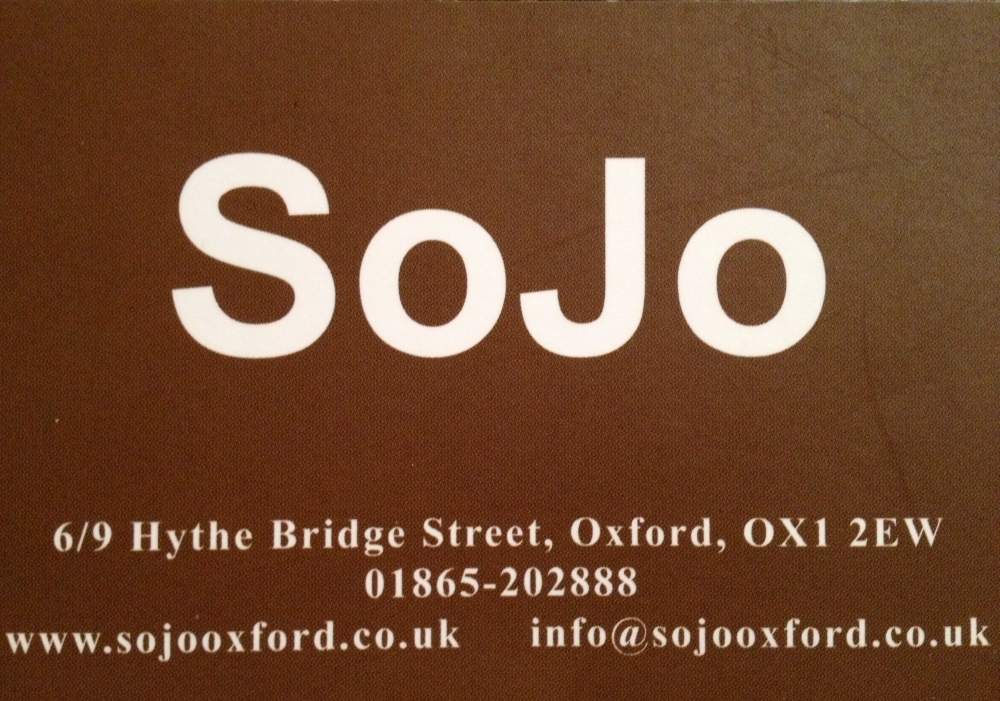 RESTAURANT REVIEW - SOJO - OXFORD, UK (1/2)