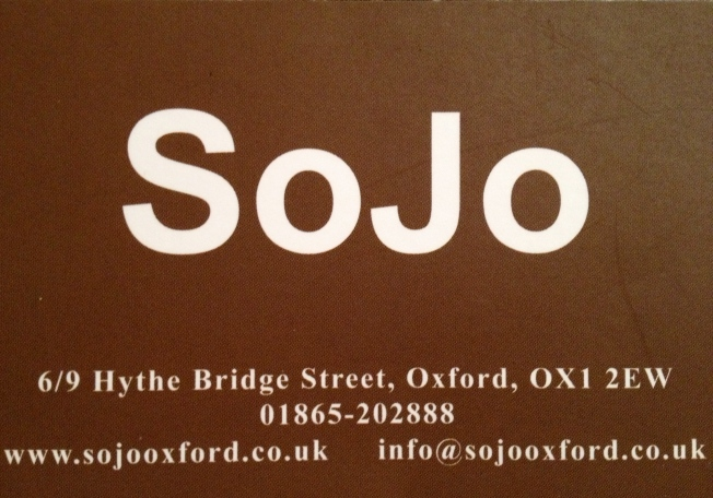 SoJo - the details