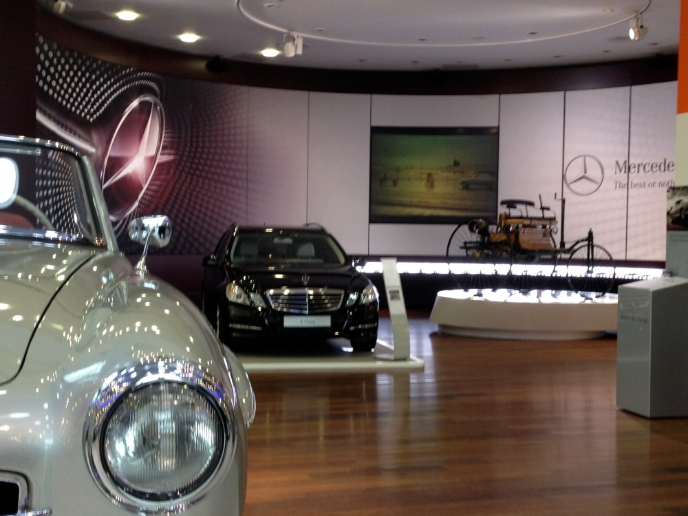 Mercedes-Benz World in Brooklands is a classy day out (1/3)