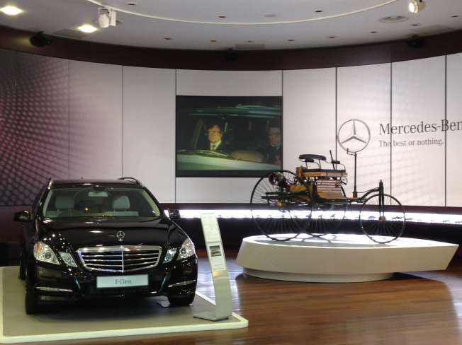 Inside Mercedes-Benz World
