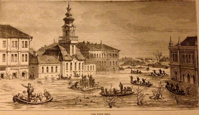 The floods in Hungary (illustration taken from The Graphic of March 1879)