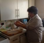 Shabibi preparing 'boloni'