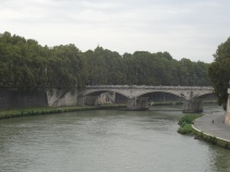 Sculler on the Tiber
