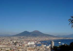 The city of Naples, Italy