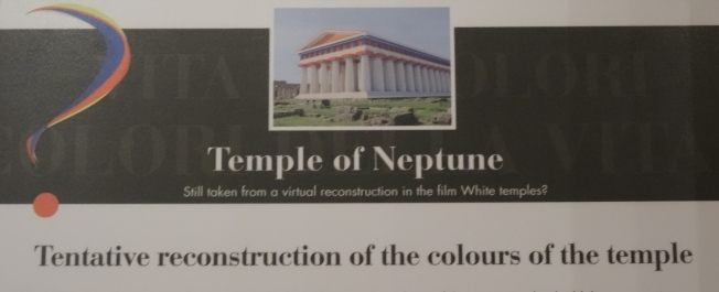 Coloured temples?
