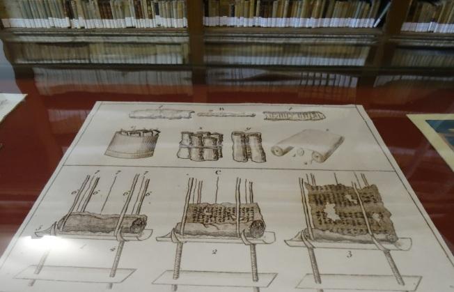 Papyri scrolls of Herculaneum