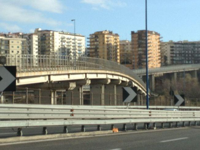 The roads into Naples
