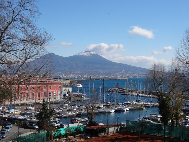 Vesuvius on a balmy day