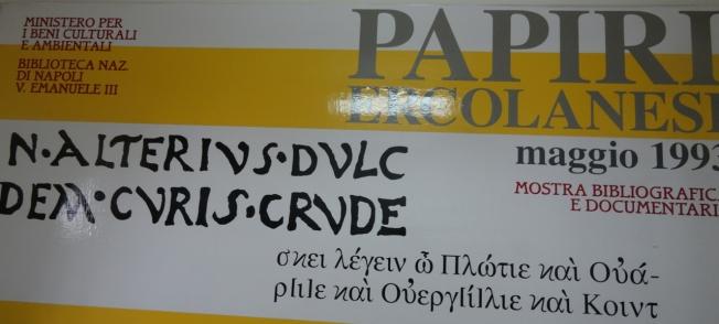 Papyri of Herculaneum