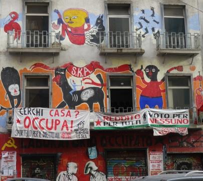 Street art Naples