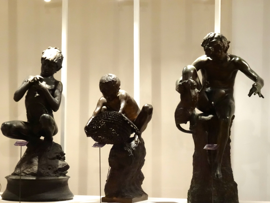 Bronzes of boys