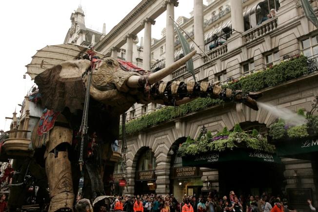The Sultan's Elephant in London