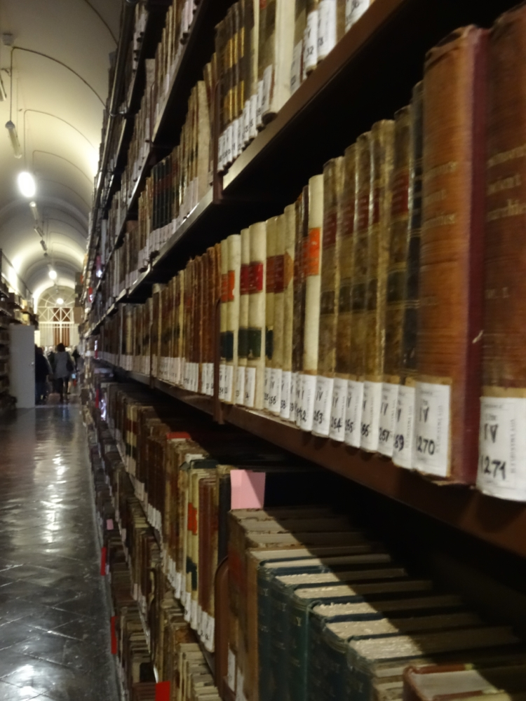 Herculaneum Papyri in the National Library in Naples (3/6)