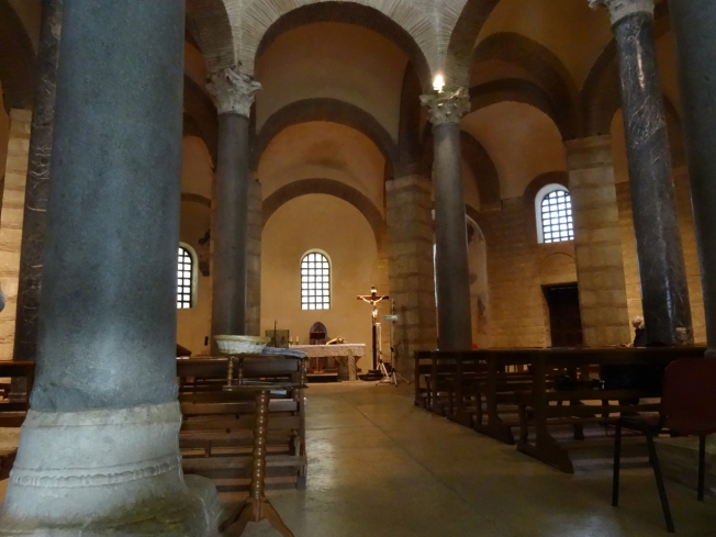 The church of Santa Sofia in Benevento