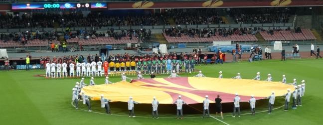 Formalities - Napoli versus Wolfsburg
