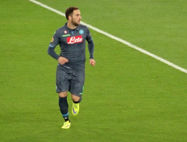 Gonzalo Higuaín - Napoli's star striker