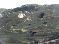 Seating for thousands in the Anfiteatro Flavio in Pozzuoli