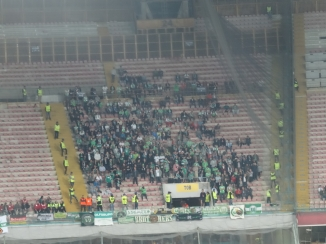 Wolfsburg supporters