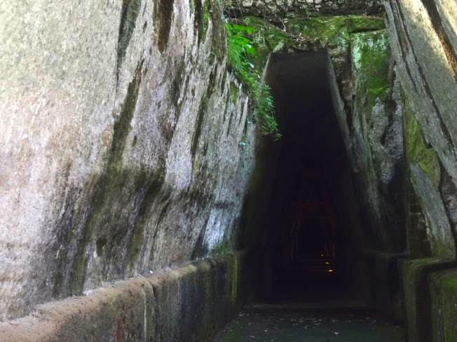 Entrance to the Sibyl's Cave