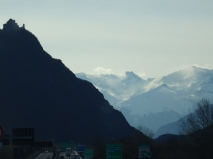 Into the Alps towards France