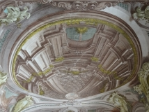 Ceiling in the Palazzo Reale di Portici