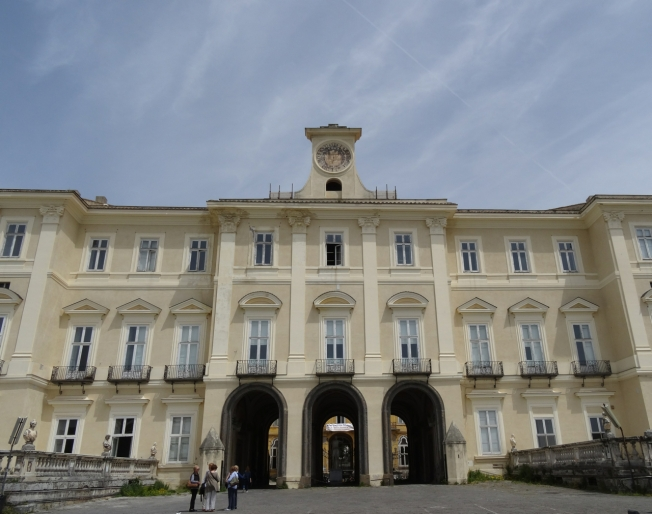 The royal palace at Portici, near Naples
