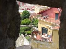 The neighbours - Castel Sant'Elmo, Naples