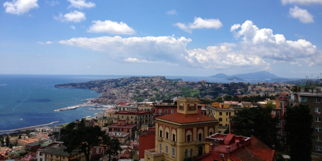 I mille colore di Napoli - the thousands colours of Naples (from Castel Sant'Elmo)