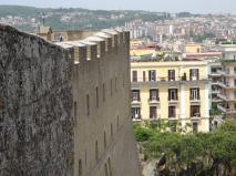 The neighbours - Castel Sant'Elmo, Naples