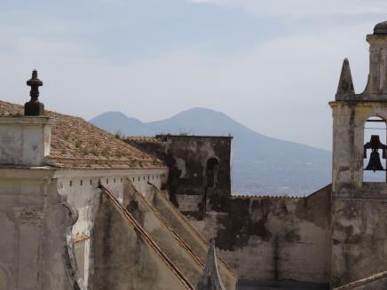 The neighbours - Castel Sant'Elmo , Naples