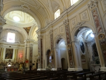 Inside the church at Cetara
