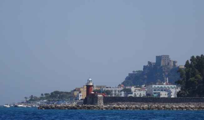 Entrance to the ferry port on Ischia