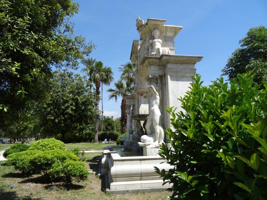 The Villa Comunale in Naples