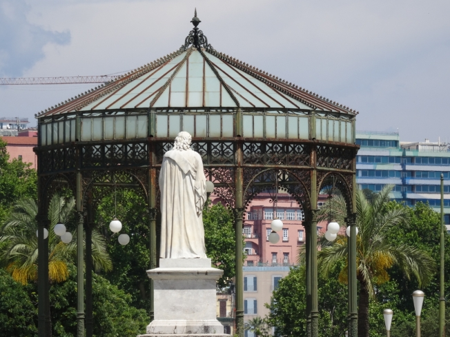 The bandstand in the Villa Comunale in Naples