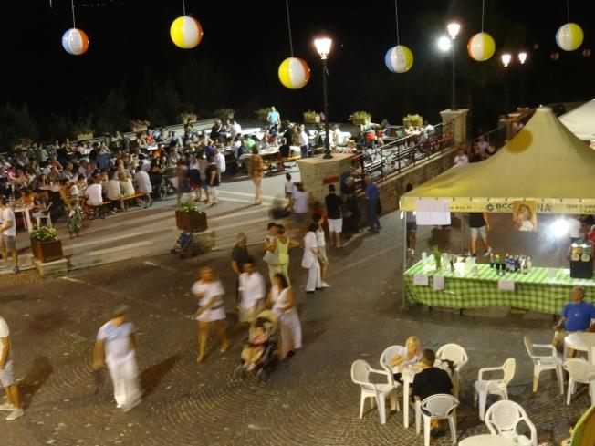 The festa in Montelparo