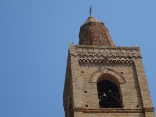 Bell tower in Montelparo