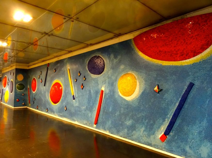 Piazza Dante Metro station in Naples, Italy
