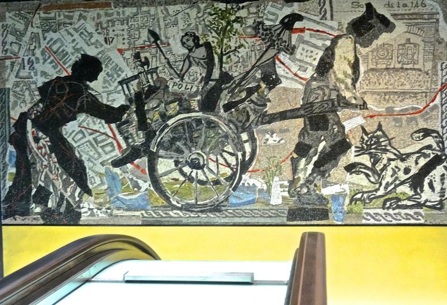 The second mosaic by William Kentridge