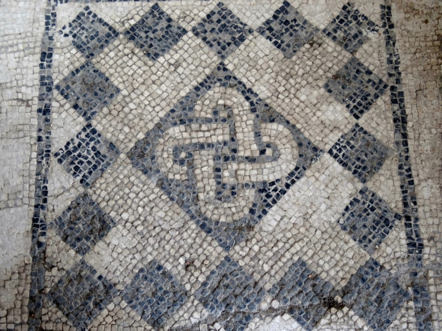 Floor mosaic - the Villa Arianna in Stabiae