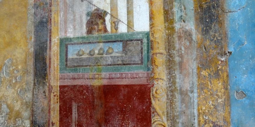 Detail from a fresco - Villa Arianna in Stabiae