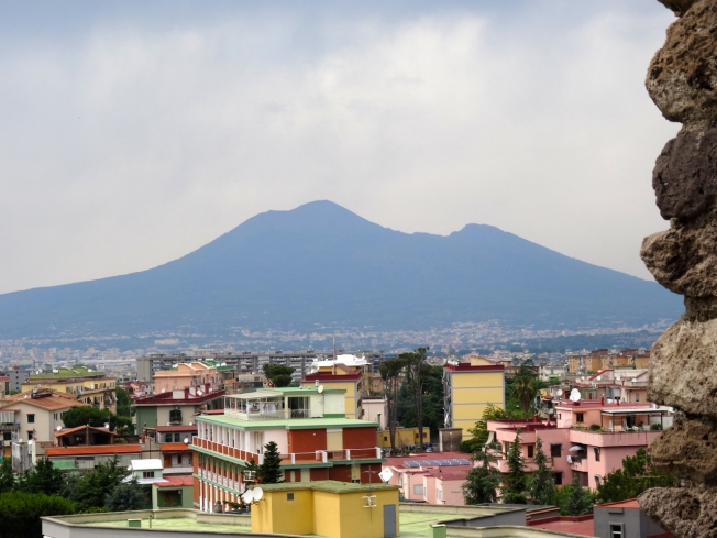 Vesuvius from the Villa San Marco in Stabiae