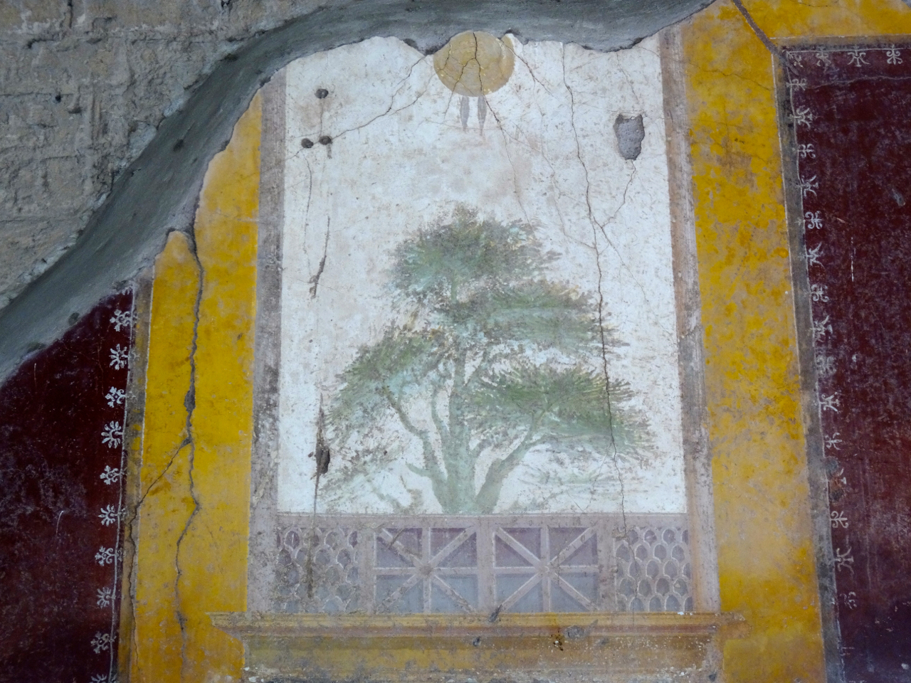 Detail from a fresco in the Villa San Marco in Stabiae | The Phraser